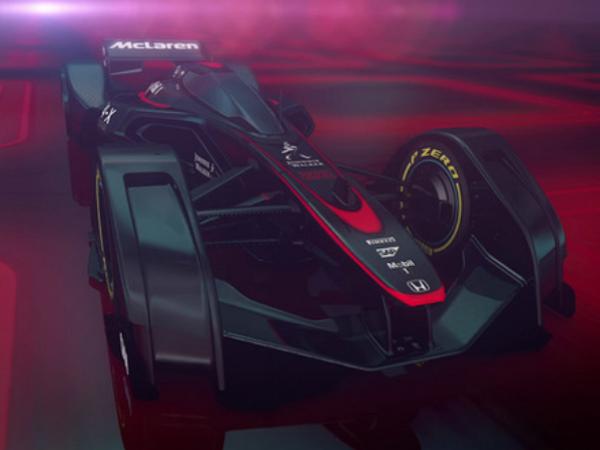 內外都酷過蝙蝠車!Mclaren Honda概念F1賽車MP4-X