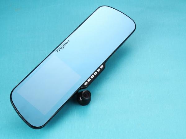 智慧後照鏡 Trywin DTN-3DX Mirror 三合一行車記錄器實測