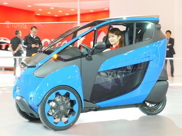Toyota i-Road,你到底是汽車還是機車?