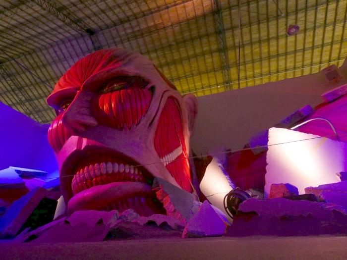 「進擊的巨人展」親身體驗:虛擬實境 360° VR 劇場、1:1等身大巨人頭像迎面襲來!