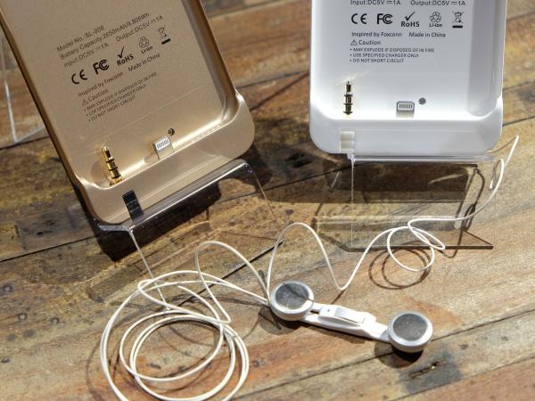 Snailink 全能手機殼,內建行動電源、自動收線 Hi-Fi 耳機、插針、SIM 卡槽