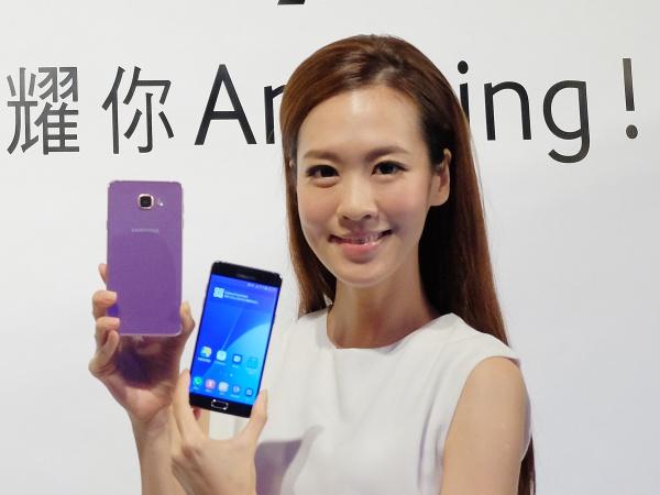 三星在台發表 Galaxy A 系列 2016 版,售價 13,900 元起