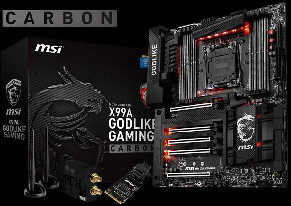碳纖維視覺設計上身,MSI 發表 2 款 Carbon Edition 主機板