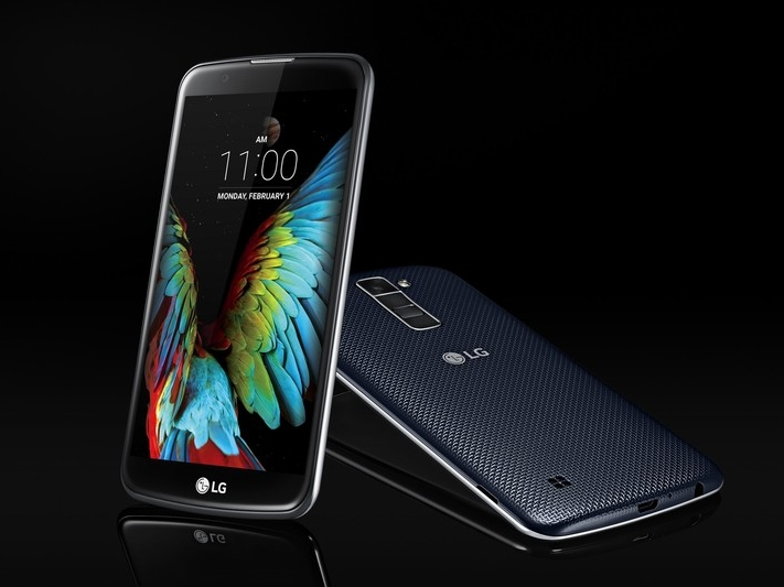 LG 在 CES 上發表 K10 與 K7 兩款 2.5D 的圓弧螢幕入門機