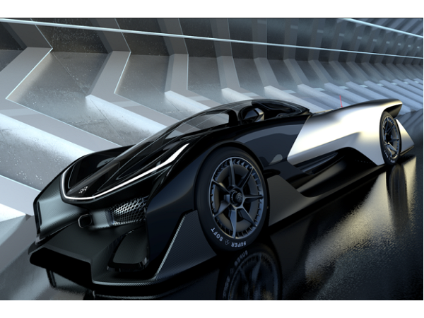 [CES新品]法拉第挑戰特斯拉!Faraday「來自未來」的電動車首度亮相