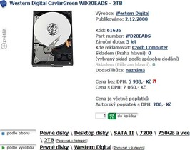 WD硬碟這次不跳水,要坐火箭飛向2TB!