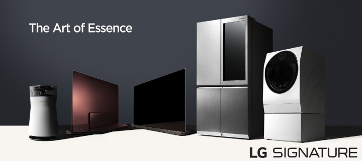 LG 推出 Signature 家電新陣容:4K 電視、冰箱、洗衣機