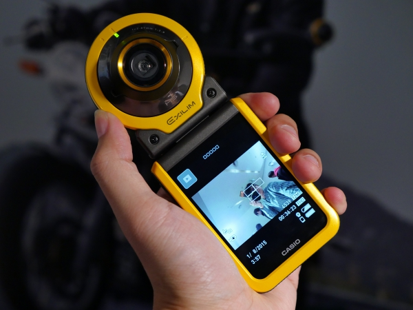 Casio 推出二代目分離式相機 EX-FR100,鎖定 OutDoor 族群,但它能挑戰運動攝影機嗎?