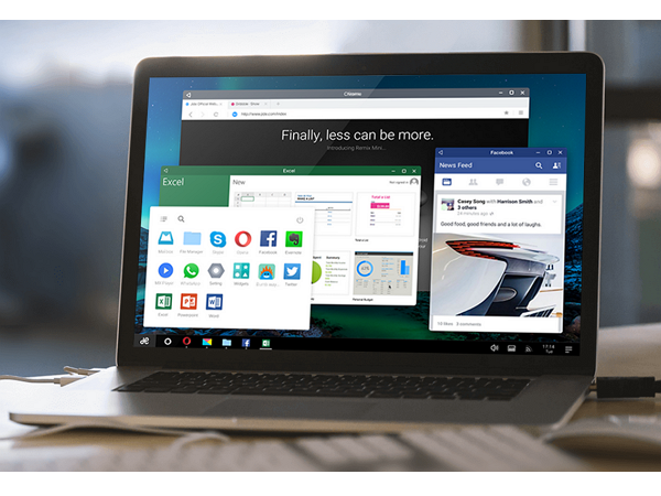 動手實測:下載Remix OS PC 版,電腦插上USB就變成Android系統--好用嗎?