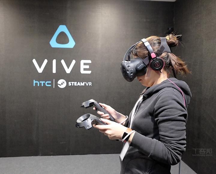HTC Vive Pre 參戰台北電玩展!新機種開放體驗,四款台製遊戲登場