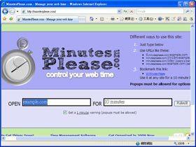 臉書成癮救星:Minutes Please 定時關網頁