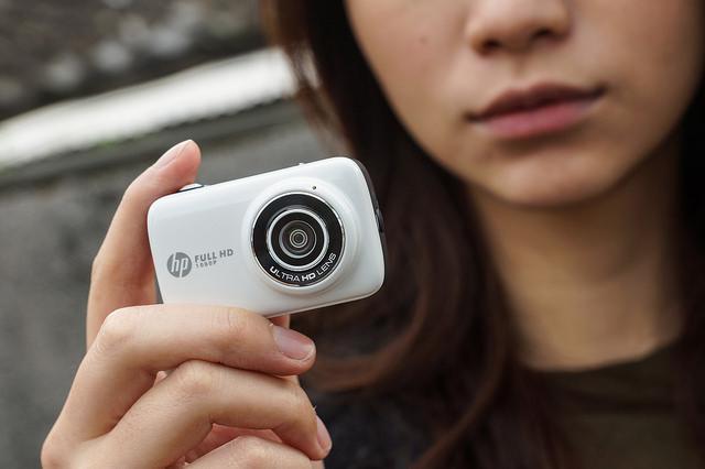 屬於女孩們的自拍小相機:HP Mini WiFi Cam lc200w