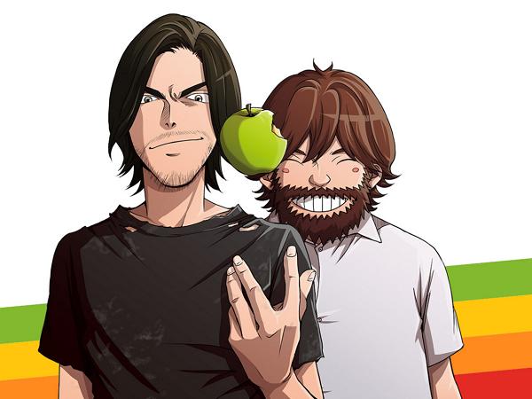 日本版賈伯斯漫畫第一集免費線上看,賈伯斯與他的戰友們