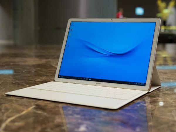 華為發表「Matebook」二合一平板電腦,基本款 699 美元 劍指 Surface?