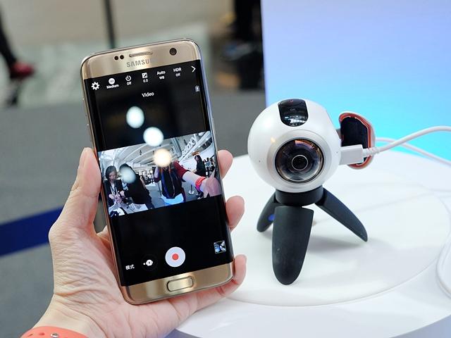 三星 Gear 360 亮相,還有 4D Gear VR 體驗週末在台北 101 登場!