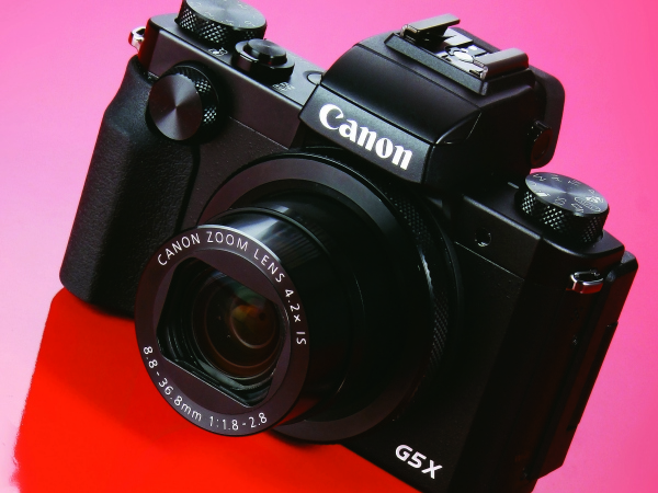 Canon PowerShot G5X-一吋感光元件的復古風相機