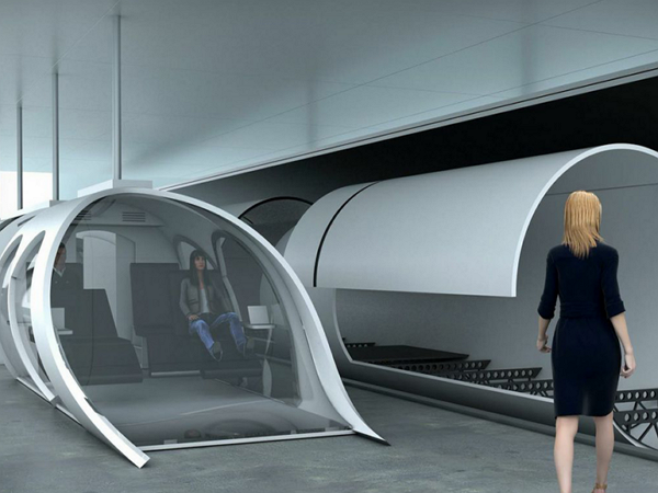正在加州建造全球首條管道列車的公司CEO,解釋在封閉管道內怎麼「體驗戶外」