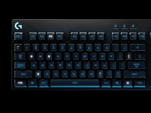 羅技推出具 RGB 背光的 G810 機械式遊戲鍵盤