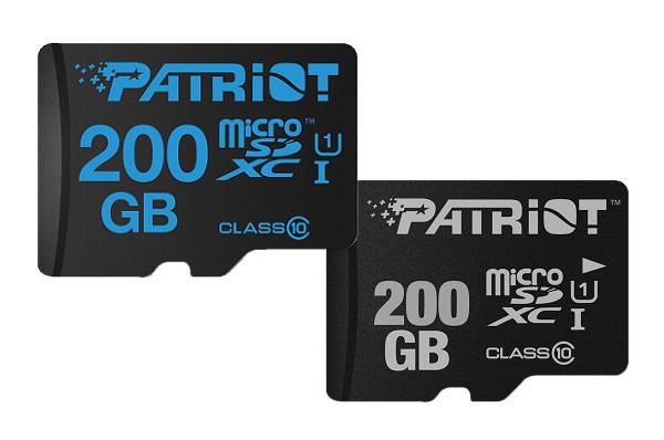打破市場寡占局面,Patriot 發表 200GB 容量 microSDXC 記憶卡
