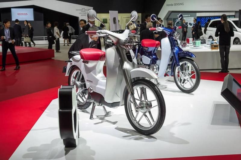 本田小狼輕機車轉型成電動版EV-Cub,預計2018年重新上市!