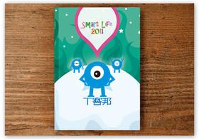 2010年資訊月 T客邦要送給你超卡哇伊的2011年曆本!