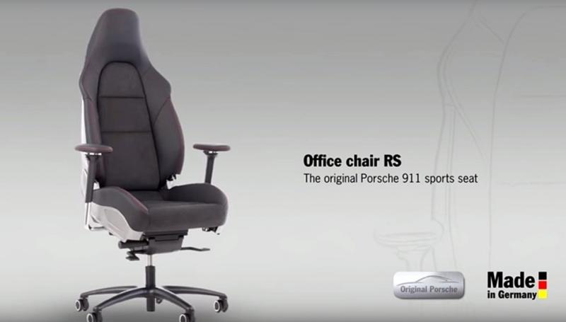 Porsche推出辦公椅!把 911 Carrera GTS和911 GT3的駕駛座直接搬到辦公室