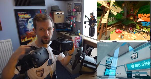 一台 PC 能同時跑得動 Oculus Rift 和 HTC Vive 嗎?答案是YES