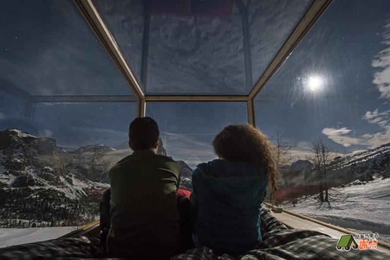露營新招術 -帳棚內也可以看星星