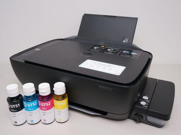 HP DeskJet GT 5820評測:連續供墨大印量,列印成本超划算