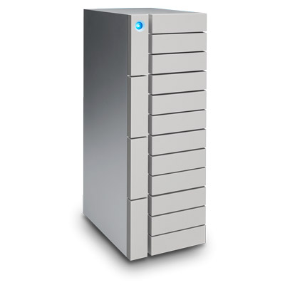 LaCie 發表 12big Thunderbolt 3 外接磁碟陣列,12-Bay 容量可達 96TB