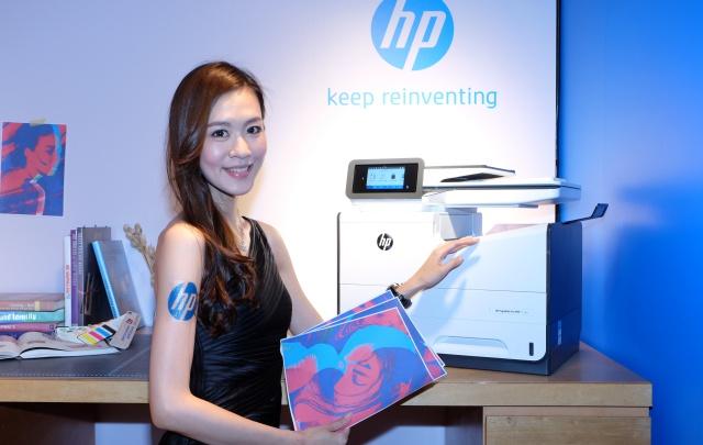 HP 發表 15 款印表機,墨水配方調整、列印速度更快