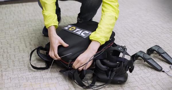 當個VR行動背包客!ZOTAC「Mobile VR backpack」把整套VR系統背在身上