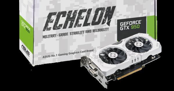 華碩推出 Echelon GTX 950 限量版電競顯示卡,售價 5,990 元