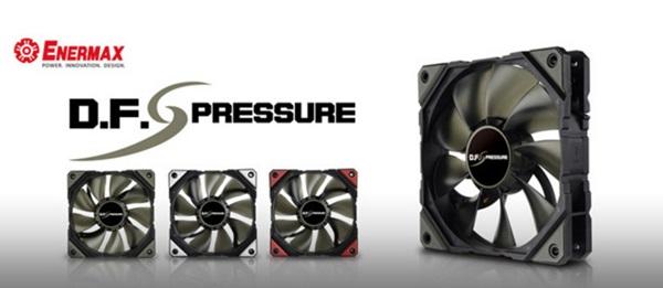 標榜 DFR 無塵旋轉技術,Enermax 發表 D.F. Pressure 系統風扇