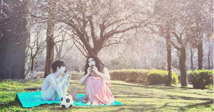 另類親子照:《咒怨》伽椰子顯靈開 Instagram 帳號分享她與俊雄的日常