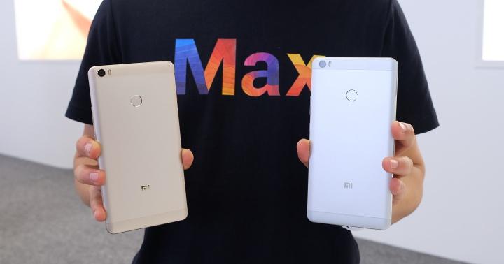 小米 Max 正式發表:6.44 吋超大螢幕、4850mAh 超大電池,台灣預計暑假上市
