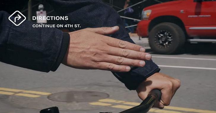 Levi's這件預計明年上市的「智慧牛仔外套」,讓你在衣服上觸控操作手機