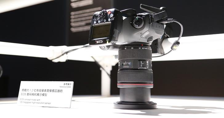 1.2 億畫素相機、8K 錄影現身?看看這些 Canon EXPO 展出的未來技術