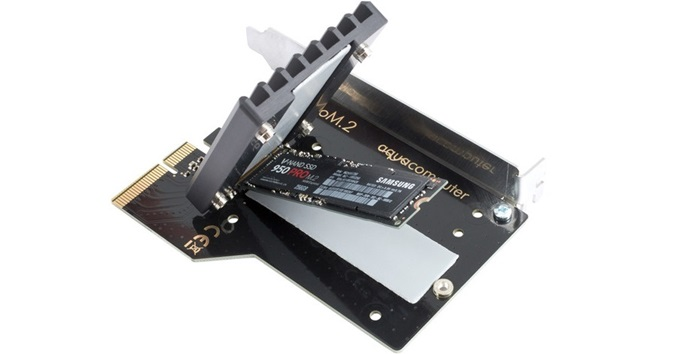解決 M.2 固態硬碟高熱問題,Aqua Computer 發表 kryoM.2 系列散熱套件