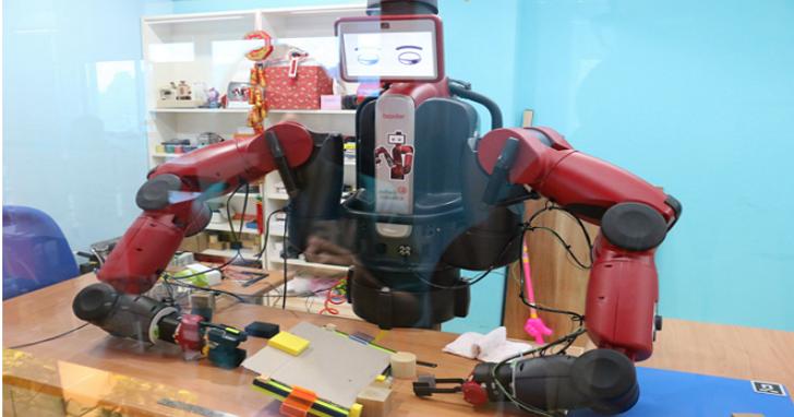 Garage+邀請15組全球新創團隊抵台,順便看藏在育成中心的Baxter機器人