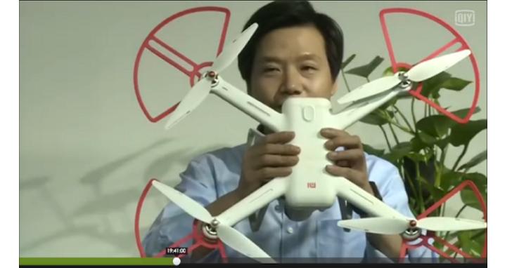小米用直播發表了無人機,雷軍當了兩小時「網紅」
