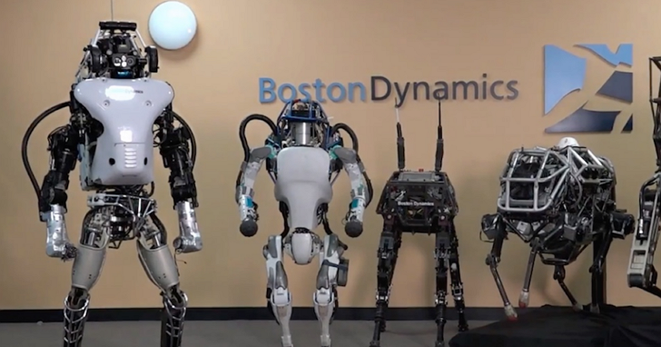 塵埃落定,Google的最知名機器人公司Boston Dynamics 要賣給TOYOTA了