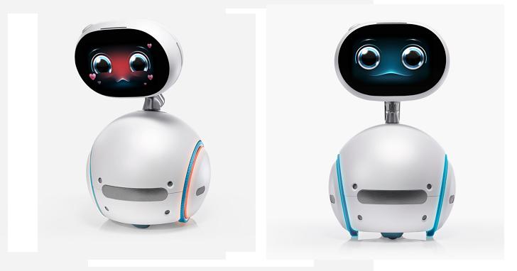 表情超無辜!華碩推出ZenBo語音機器人助手