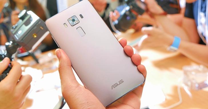 華碩 ZenFone 3、Deluxe、Ultra 三機發表現場試用,細節看清楚
