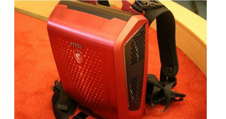 玩VR遊戲不用再怕被線絆倒,微星推出背包主機 Backpack PC