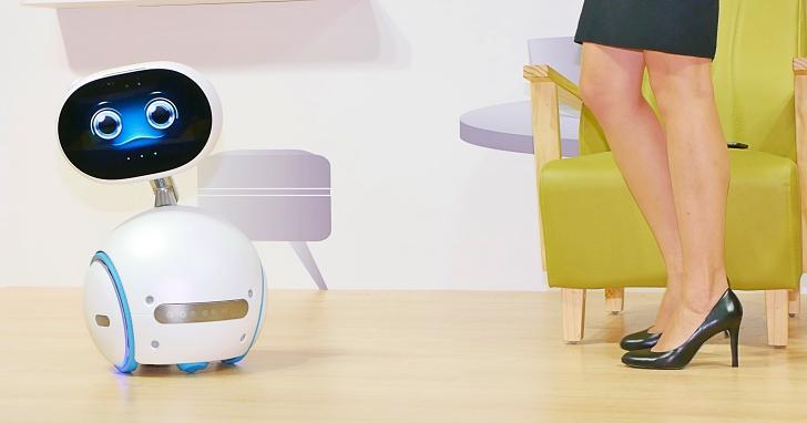華碩智慧機器人 Zenbo 到底能夠做什麼?影音圖文帶你看清楚