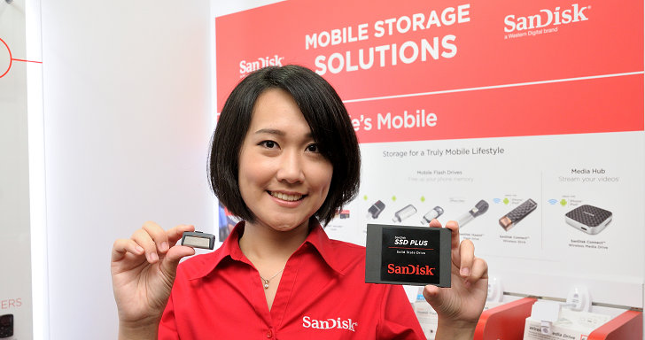 SanDisk 持續布局主流市場,推出新一代 SSD Plus 固態硬碟