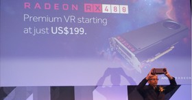 AMD發表Polaris架構Radeon RX480顯卡,199美元搶攻VR市場