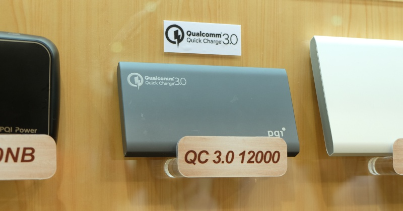 PQI 展出 QC 3.0 行動電源、筆電用行動電源、超迷你 type-c 隨身碟
