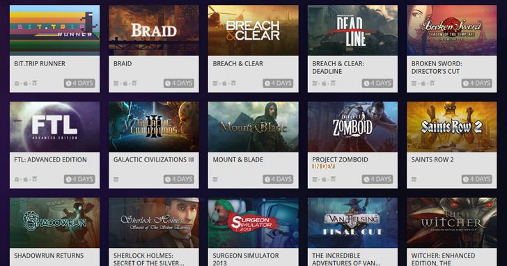 超佛心!GOG可以將Steam買過的遊戲免費導入他們的遊戲庫